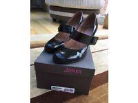 Jones Bootmaker Black Patent Leather Shoes