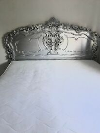 Rococo style super king g bed up cycle