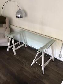 Bespoke Glass desk / table