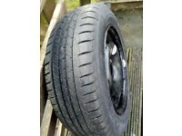 Spare wheel with full tyre for Dacia Stepway