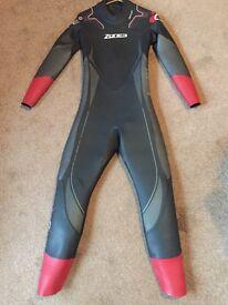 Zone 3 Men's Aspire 2016 Wetsuit - excellent condition