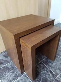 Nest of Tables dark brown
