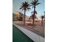 Beautiful sea view holiday flat in Villajoyosa ( just outside Benidorm ) sleeps 6