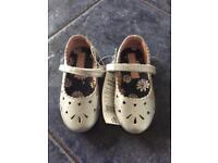 Brand New Silver Shoes - Infant Size 6