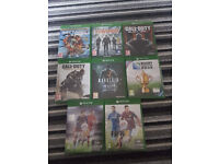 8 x Xbox one games