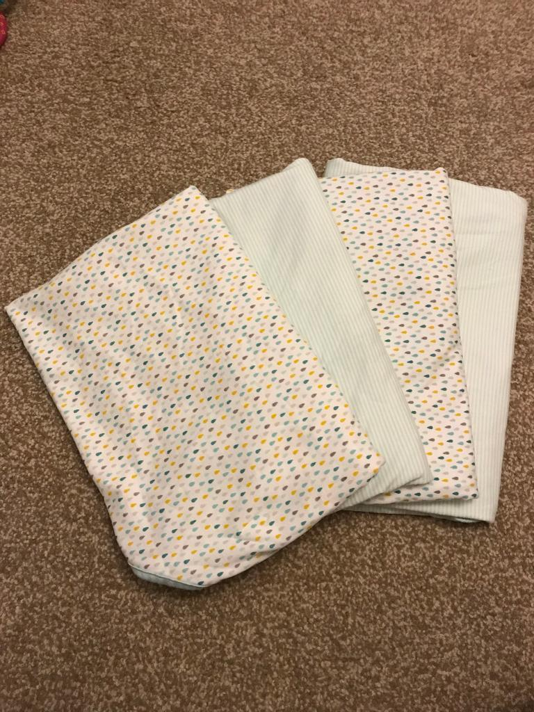4x Mother care swaddles