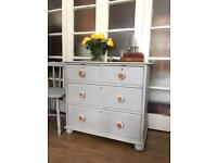 "VICTORIAN CHEST OF DRAWERS FREE DELIVERY LDN🇬🇧""Grey Paris"""