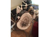 Mama and Papas electronic baby smoothing motion cradle