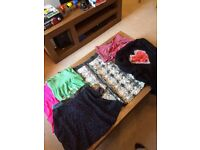 Huge size 12 and 14 women's clothing bundle