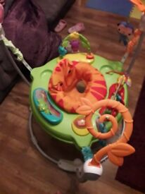 Rainforest Jumperoo Near Perfect Condition Like New