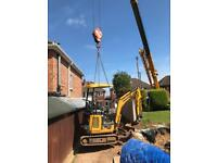 Landscaping and digger hire