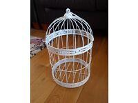 Decorative Bird Cages x 10. Wedding centre pieces/home decor.