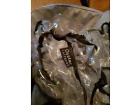 OYSTER 2 PRAM, CARRYCOT, COLOUR PACK RAIN COVERS AND CAR SEAT ADAPTERS
