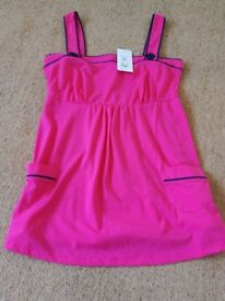 Pink top brand new with tags size 10