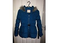 Girls Torquoise Winter Jacket