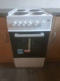 Beko electric cooker brand new