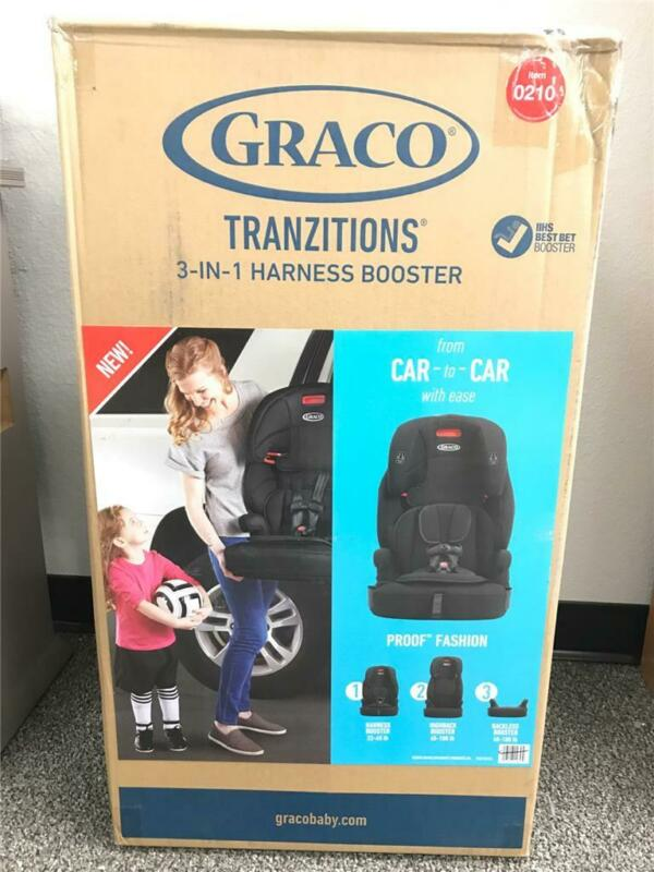 -* Graco Tranzitions 3-in-1 Harness Booster Car Seat Convertible - LOCAL PICKUP