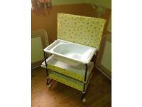 Baby Bath & Changing Trolley