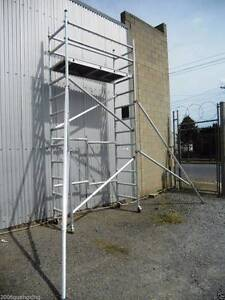 Aluminium Mobile Scaffold Tower Platform height 3m  Model F40 Archerfield Brisbane South West Preview