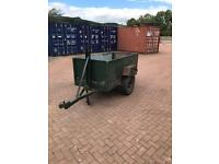 Compact Single Axle Trailer
