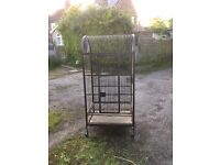 Bird cage/ budgey cage/ Parrot cage 1.65m H x 0.80m W x 0.58m D