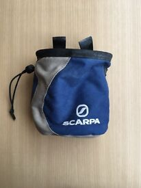 Scarpa rock climbing / weightlifting chalk bag