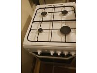 New gas cooker and oven
