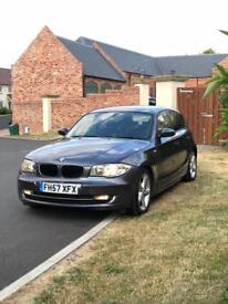 BMW 1 SERIES 118D 2007 SE SPORT NEW TYRES 12 MONTHS MOT £30 A YEAR TAX