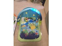 Light up lagoon play mat
