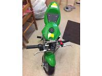 Green Mini Moto 50cc