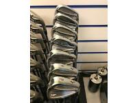 MIZUNO MP58 IRONS 4-PW. STIFF S300 SHAFTS. AVERAGE CONDITION. NEW GRIPS.