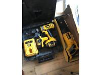 Dewalt 18v drill and reciprocating saw