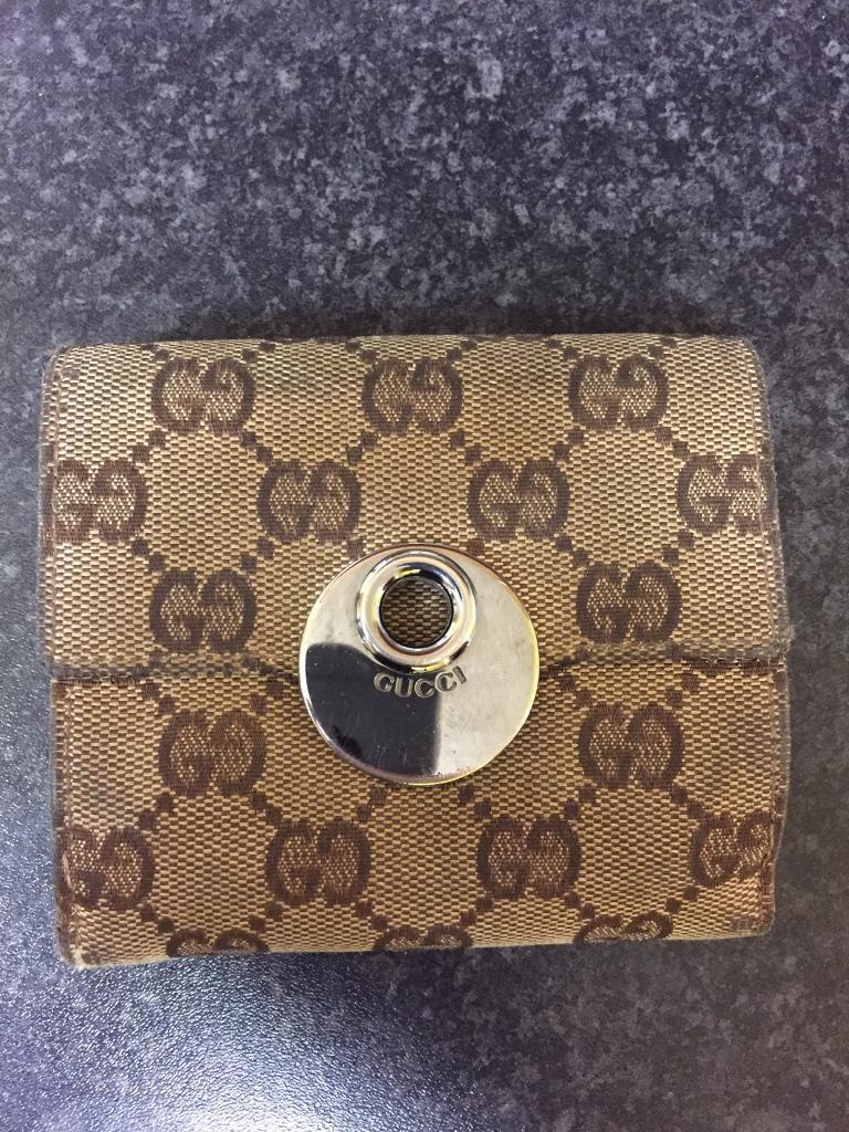 Genuine Gucci wallet/purse