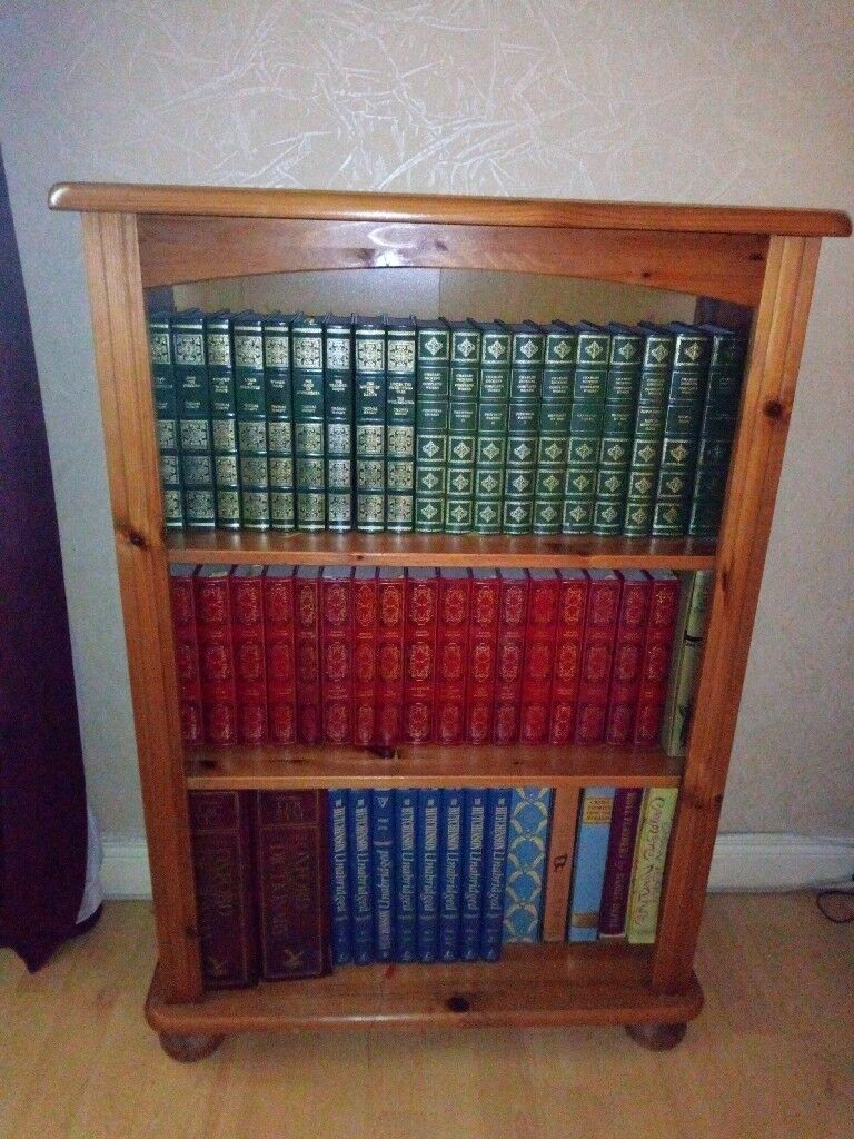 Honey Pine Bookcase