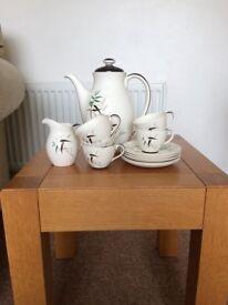 Royal Daulton Banboo coffee set