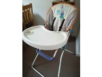 Baby Hauck high chair boy girl