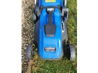 Hyunda Electric mower - 6 months old.