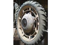 Various Tractor Wheels