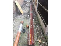 Steel beam 7.1m long open to offers.