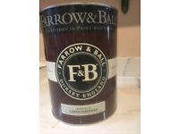FARROW AND BALL 5L Bone (no.15) Light Grey Paint Distemper Almost full (£100 Rrp)