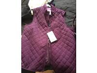 Maine gilet jacket brand new
