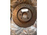 Subaru - Black diamond performance brake discs (kbd 809com)