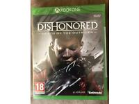Xbox One Dishonored Death of an Outsider Game Brand New
