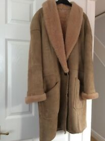 Genuine Sheepskin Moreland Ladies Coat