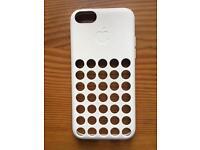 Original Apple iPhone 5c Case White