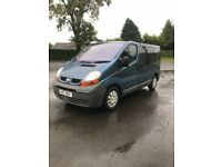 2006 traffic 9 seater including driver loads off new parts cheap to clear