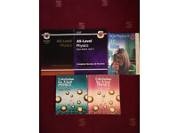 A Level Physics books for study / revision x 5