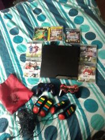 PS3 320 GB and games