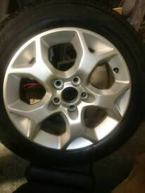 Astra wheel and tyre