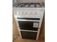 Beko BDG582W cooker with grill